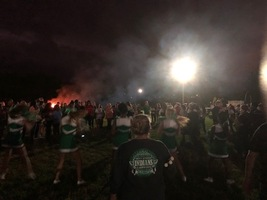Athletic Booster Club Sponsors Community Pep Rally