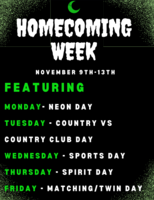 Changes to Homecoming Week
