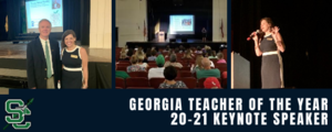 Georgia Teacher of the Year Gives 20-21 Keynote to Seminole County Teachers