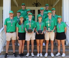 Area Champions: SCHS Boys and Girls Golf teams
