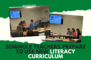 Seminole Teachers Prepare to Use New Literacy Curriculum