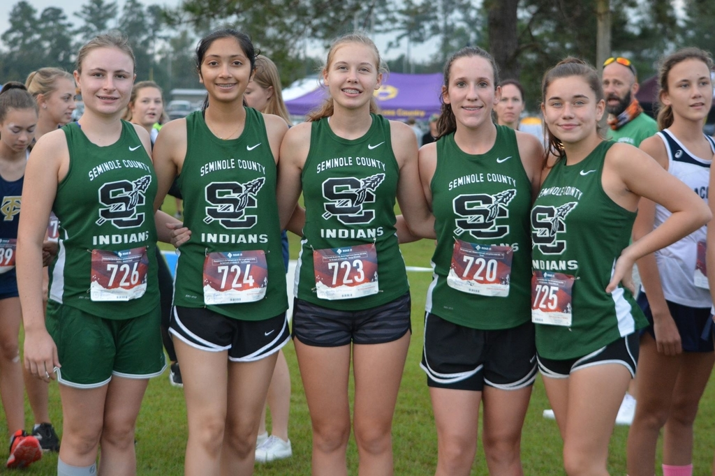Lady Indians Cross Country