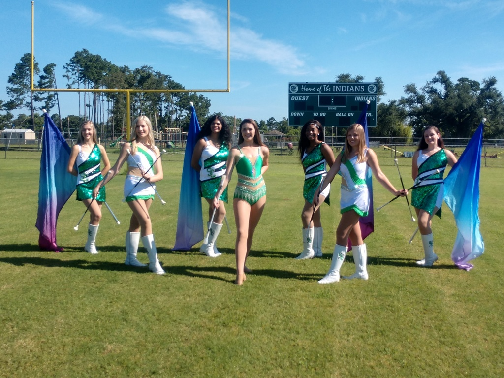 SCMHS Senior Majorettes and Dance Line are ready for the 2020 season!